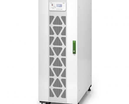 Easy UPS 3S 40 kVA 400 V 3:3 UPS with internal batteries – 10 minutes runtime
