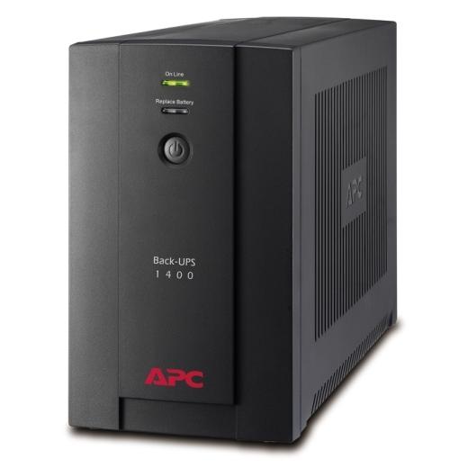 APC BACK UPS 1400VA, 230V, AVR, IEC SOCKETS